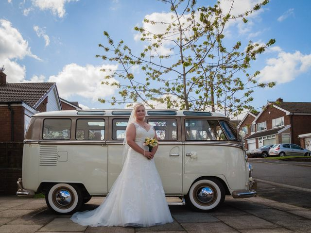 Mark and Lis's wedding in Bolton, Greater Manchester 10