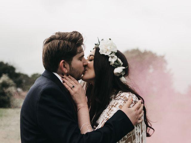 Joseph and Ellen's wedding in Knutsford, Cheshire 1