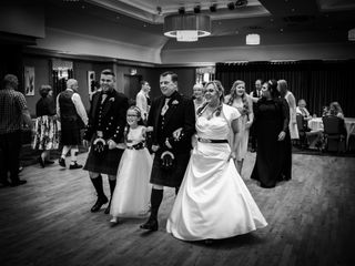 Colin and Kerry's wedding in Peterhead, Aberdeenshire 3