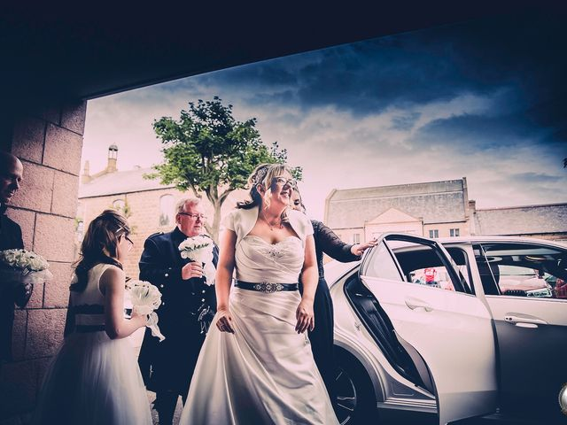 Colin and Kerry's wedding in Peterhead, Aberdeenshire 1