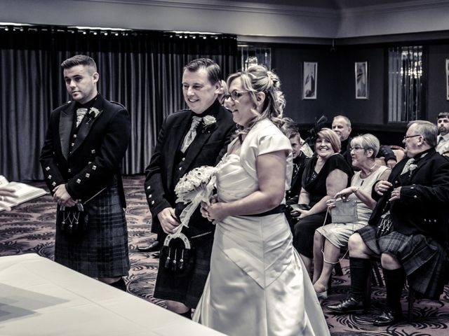 Colin and Kerry's wedding in Peterhead, Aberdeenshire 2