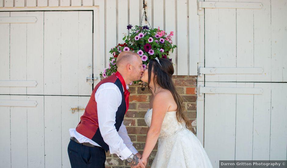 Jess and Matt's wedding in Worthing, West Sussex