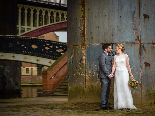 Drew and Claire's wedding in Manchester, Greater Manchester 1