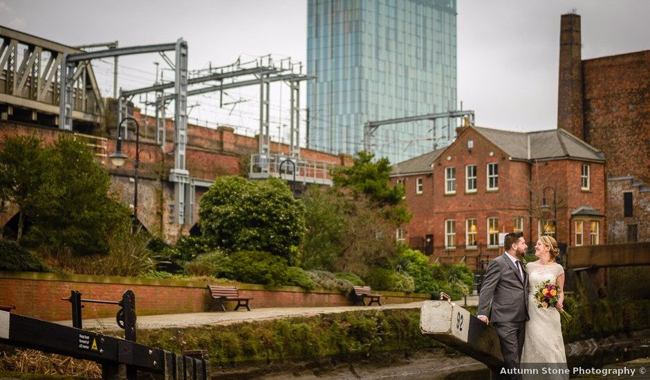 Drew and Claire's wedding in Manchester, Greater Manchester