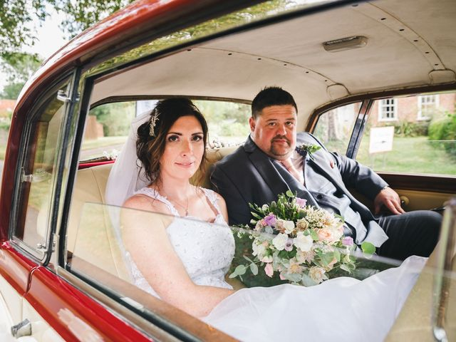 Lee and Vicky's wedding in St Ives, Cambridgeshire 4