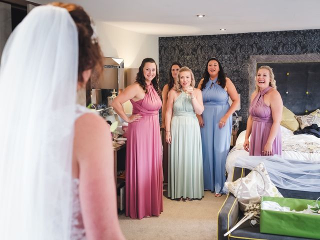 Lee and Vicky's wedding in St Ives, Cambridgeshire 9