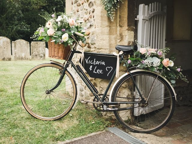 Lee and Vicky's wedding in St Ives, Cambridgeshire 10