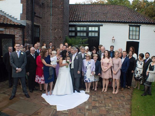 James  and Susanne's wedding in Barnby Moor, Nottinghamshire 9