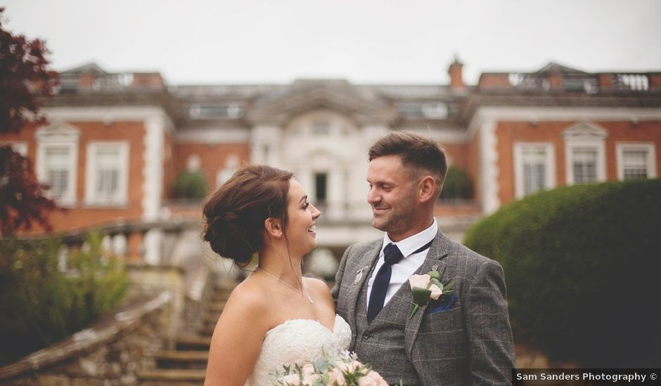 Naomi and Paul's wedding in Clitheroe, Lancashire