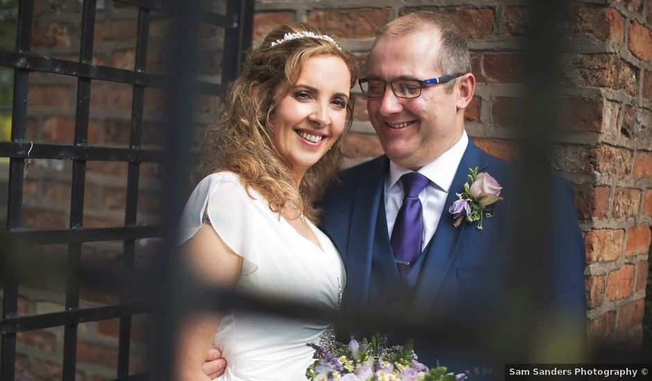 Judith and Peter's wedding in Chorley, Lancashire