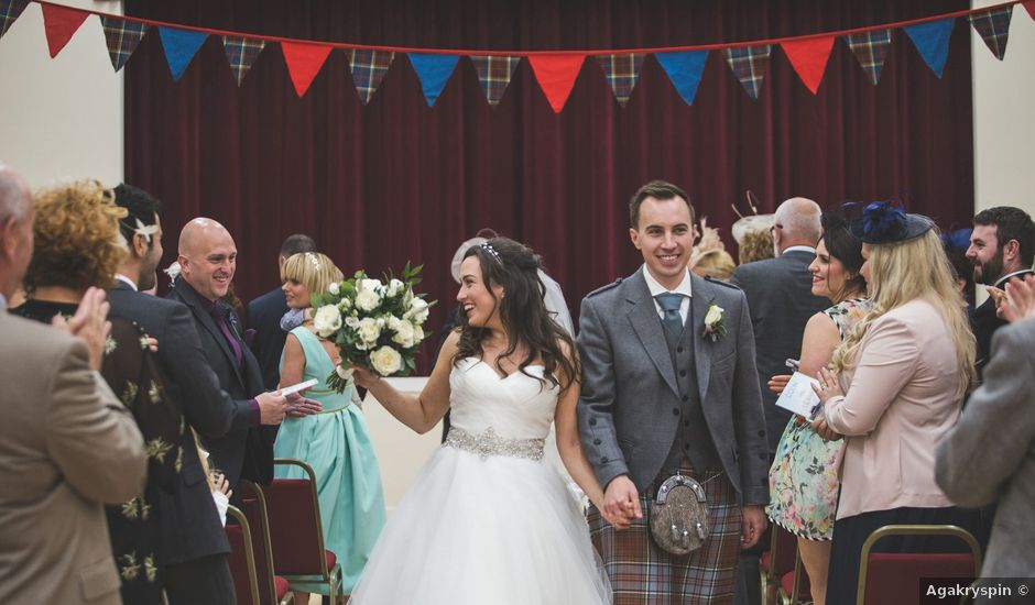 Colin and Leanne's wedding in Campbeltown, Argyll and Bute
