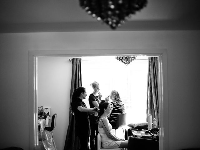 Kate and Philip's wedding in Standish, Lancashire 8