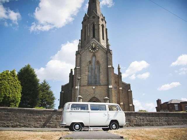 Kate and Philip's wedding in Standish, Lancashire 1