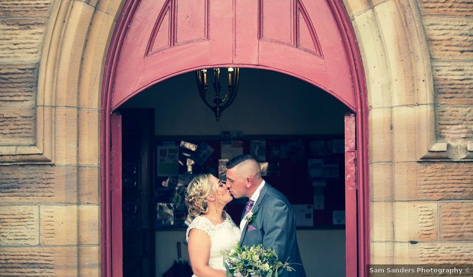 Kerry and Tom's wedding in Blackrod, Lancashire
