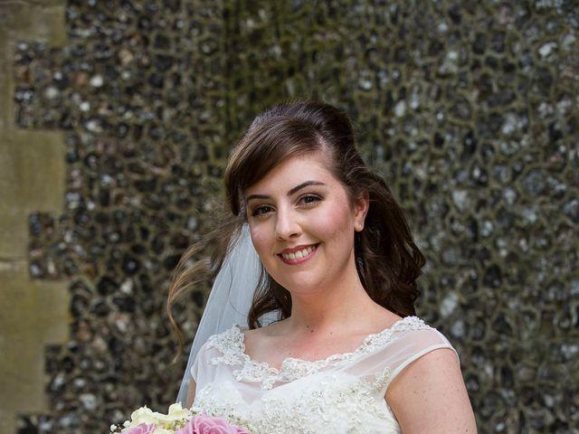 Phil and Natalie's wedding in Hatfield, Hertfordshire 6