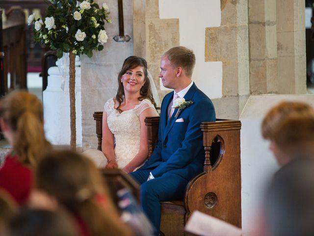 Phil and Natalie's wedding in Hatfield, Hertfordshire 7