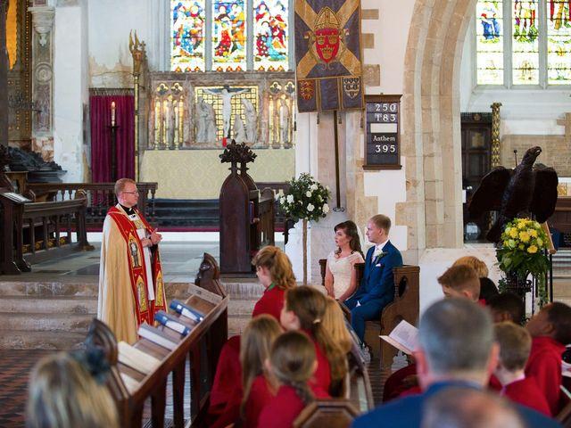Phil and Natalie's wedding in Hatfield, Hertfordshire 8