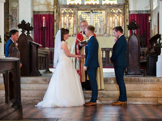 Phil and Natalie's wedding in Hatfield, Hertfordshire 9