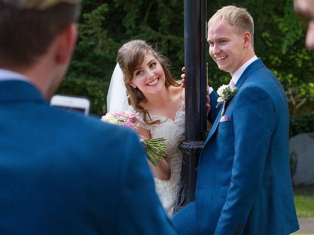 Phil and Natalie's wedding in Hatfield, Hertfordshire 10