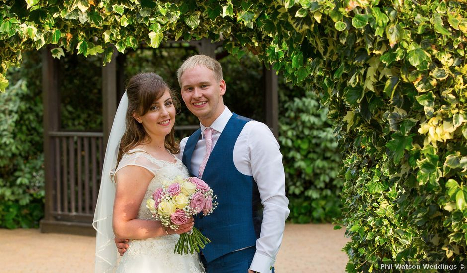 Phil and Natalie's wedding in Hatfield, Hertfordshire