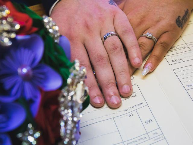Brendan and Stephanie's wedding in Mansfield, Nottinghamshire 9