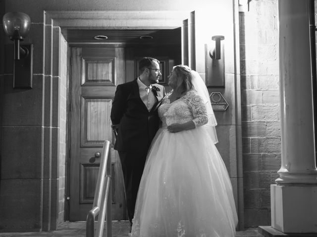 Brendan and Stephanie's wedding in Mansfield, Nottinghamshire 10