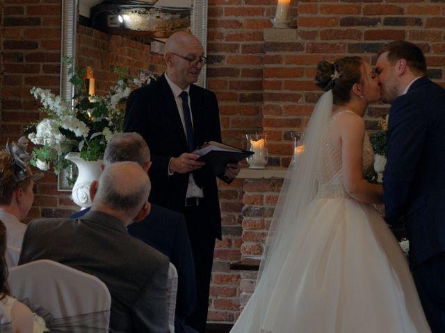 John and Rachel's wedding in Trowell, Nottinghamshire 8