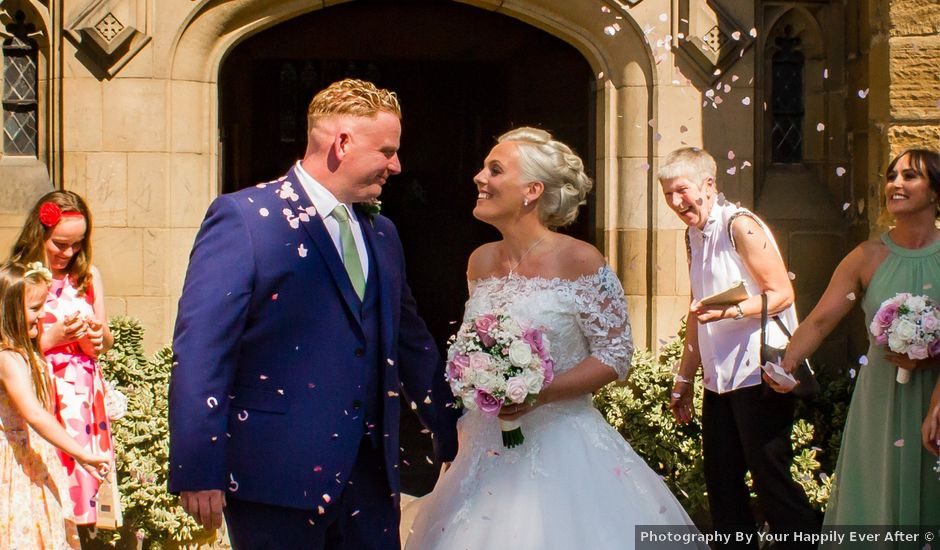 Graham and Helen's wedding in Guisborough, North Yorkshire