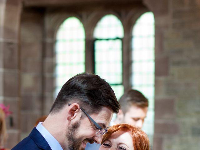 David and Leanne's wedding in Wrightington, Lancashire 4