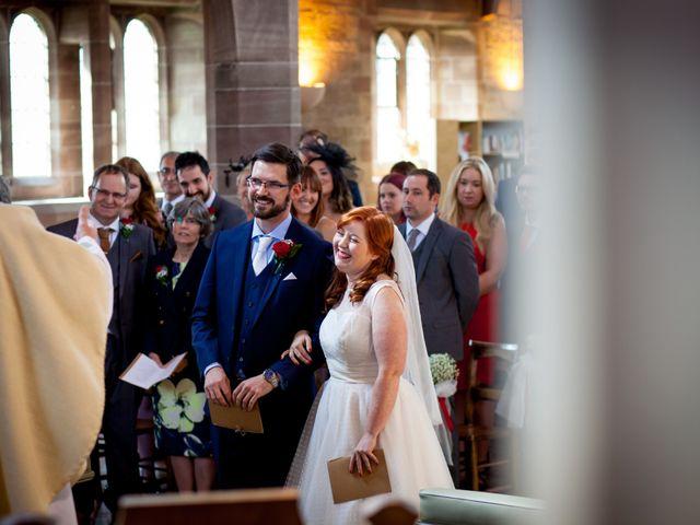 David and Leanne's wedding in Wrightington, Lancashire 5