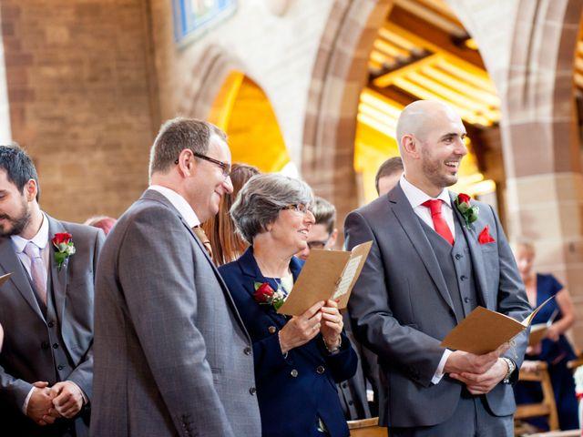David and Leanne's wedding in Wrightington, Lancashire 6