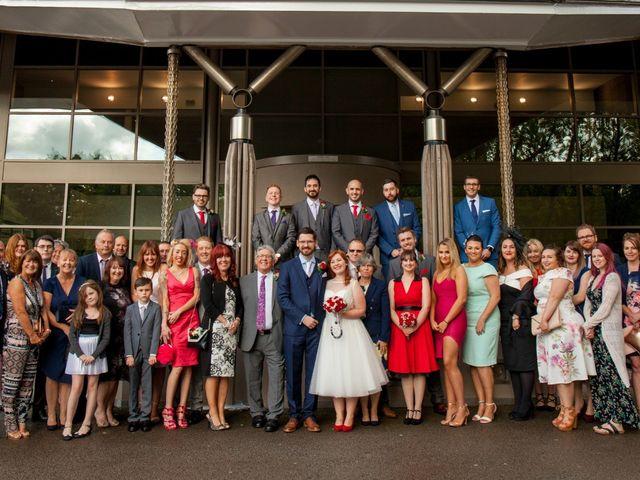 David and Leanne's wedding in Wrightington, Lancashire 7