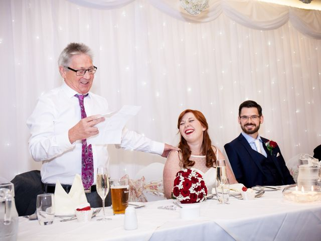 David and Leanne's wedding in Wrightington, Lancashire 9