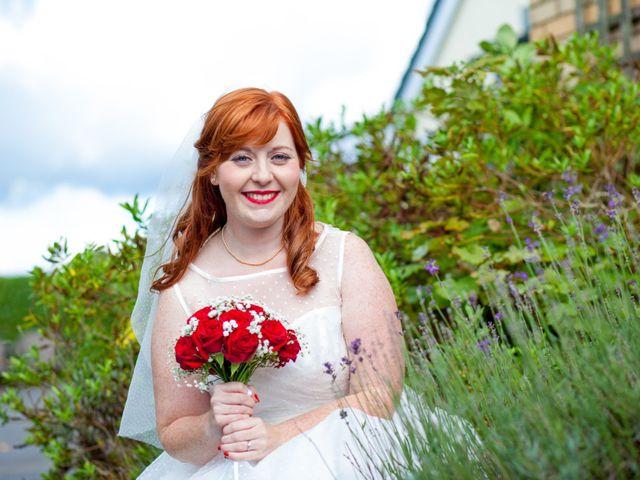 David and Leanne's wedding in Wrightington, Lancashire 10
