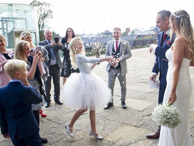 Kristian and Sheridan's wedding in Norwich, Norfolk 1