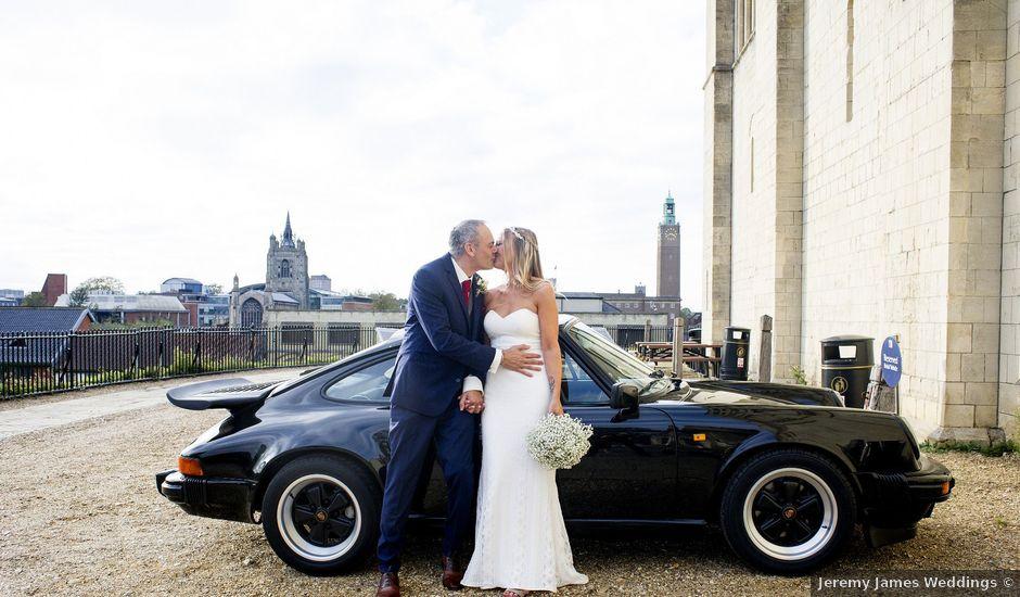 Kristian and Sheridan's wedding in Norwich, Norfolk