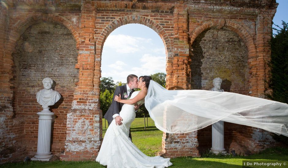 James and Claire's wedding in Oxnead, Norfolk