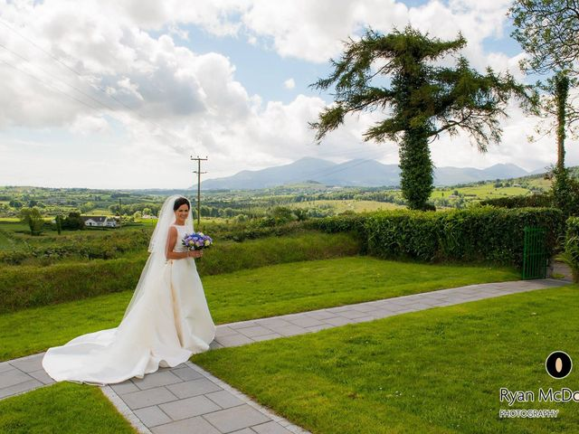 Colm and Martina's wedding in Castlewellan, Down 10