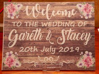 Stacey & Gareth's wedding 1