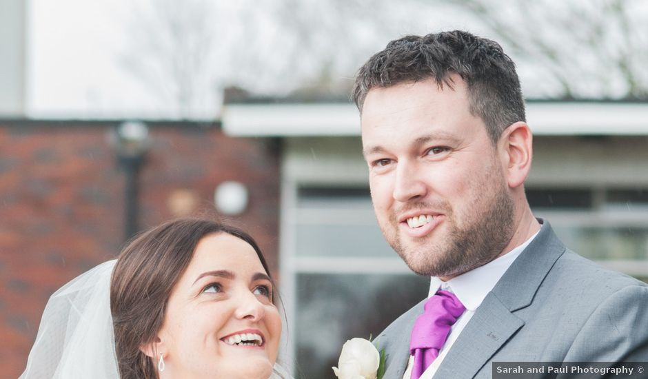Ciaran and Louise's wedding in Leeds, West Yorkshire
