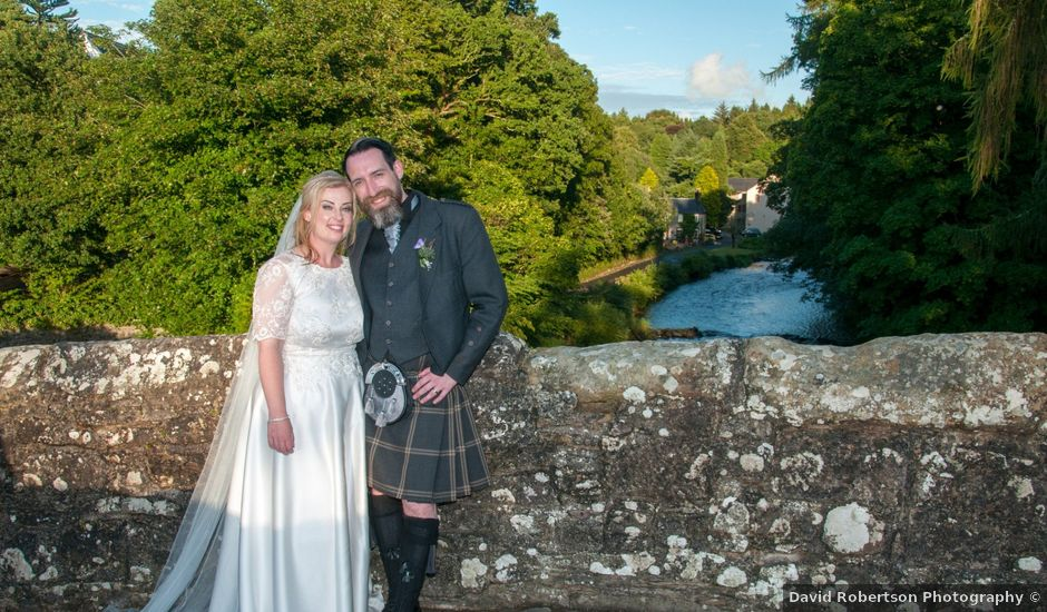 Andrew and Cheryl's wedding in Ayr, South Ayrshire