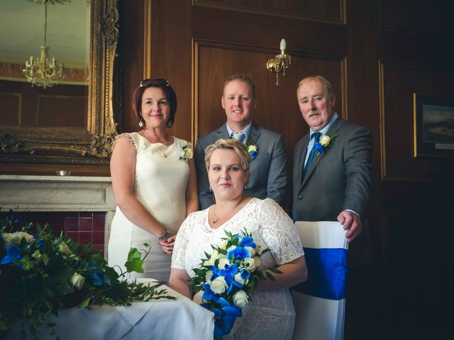Chris and Gosia's wedding in Huntly, Aberdeenshire 10