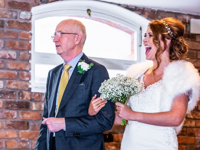 Adam and Nicole's wedding in Chester, Cheshire 5