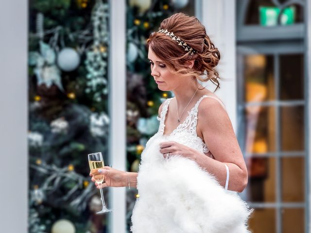 Adam and Nicole's wedding in Chester, Cheshire 7