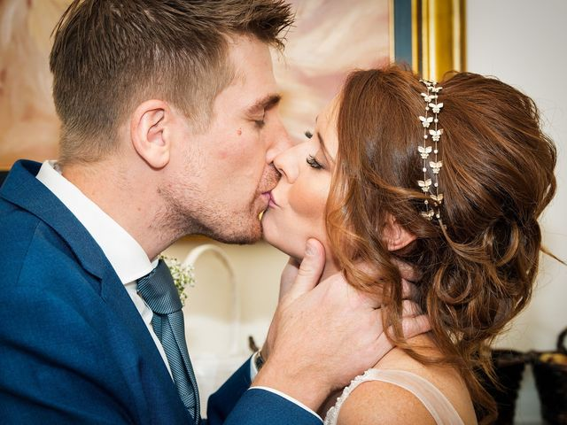 Adam and Nicole's wedding in Chester, Cheshire 8