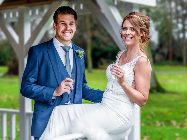 Adam and Nicole's wedding in Chester, Cheshire 9