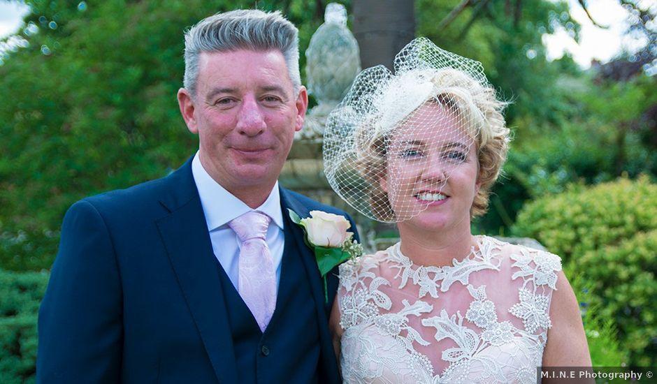 Caroline and Mark's wedding in Yarm, North Yorkshire