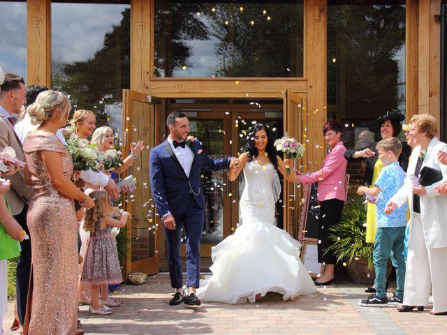Scott and Daisy's wedding in Bressingham, Norfolk 1