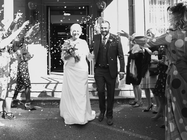 Richard and Alison's wedding in Mansfield, Nottinghamshire 10