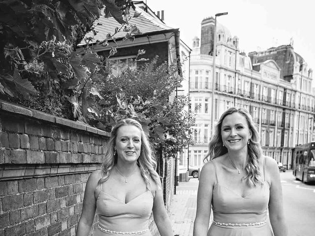 Dale and Helen's wedding in East Putney, Central London 7